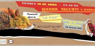 Mauro Valenti - La Paz en vivo en CCC