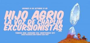 Excursionistas en Uruguay