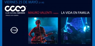 Mauro Valenti en Club Cultural Matienzo