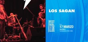 Los Sagan en Festival de Sellos